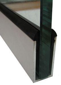 профиль П-образный стекло